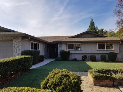 Roseville Single Family Home For Sale: 1525 Quail Circle