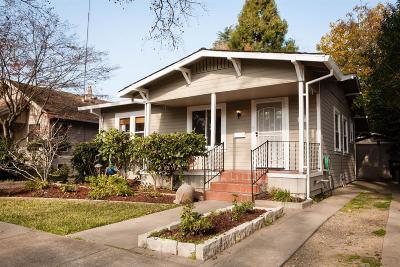 Sacramento Single Family Home For Sale: 857 7th Avenue
