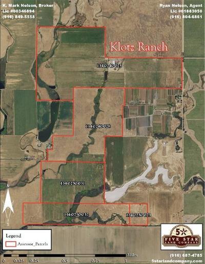 Sacramento County Commercial Lots & Land For Sale: 10672 Davis Road