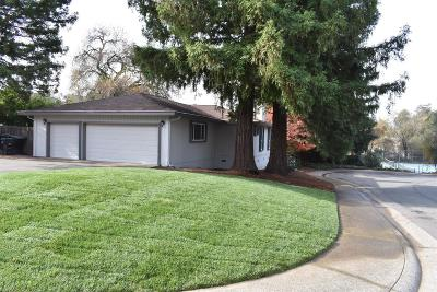 Fair Oaks Single Family Home For Sale: 4900 Rimwood Drive