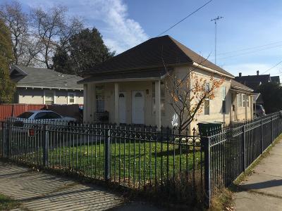 Stockton Multi Family Home For Sale: 1202 East Poplar Street
