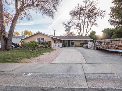 Citrus Heights Single Family Home For Sale: 8325 Butternut Drive