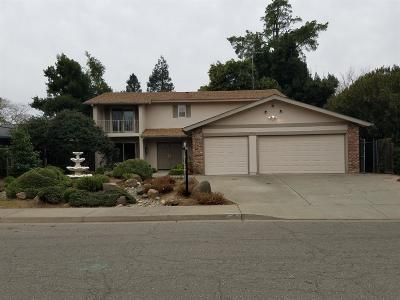 Davis Single Family Home For Sale: 611 El Toro Way