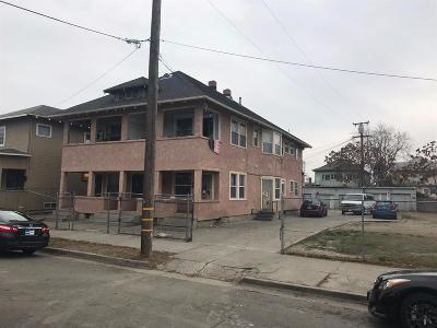 Stockton Multi Family Home For Sale: 423 South Sutter Street