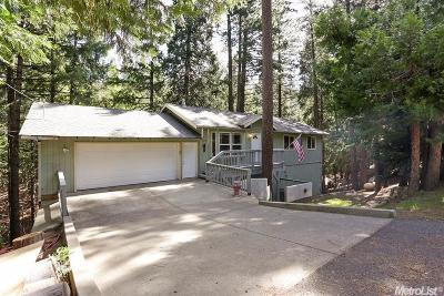 Pollock Pines Single Family Home Active Short Cont.: 5451 Buttercup Drive