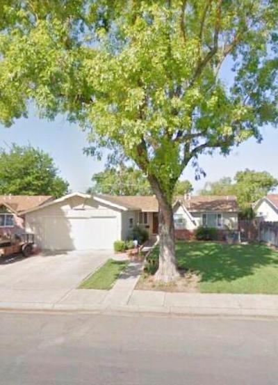 Modesto CA Single Family Home Active Short Sale: $245,000