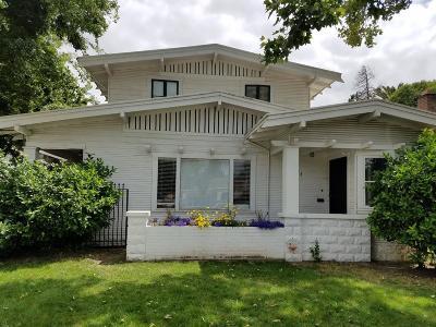 Stockton Single Family Home For Sale: 1724 Monte Diablo Avenue