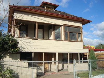 Stockton Multi Family Home For Sale: 2029 East Main Street