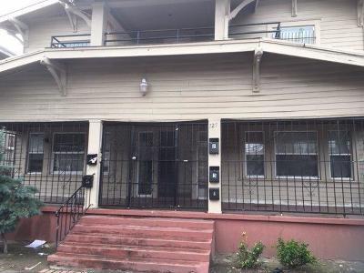 Stockton Multi Family Home For Sale: 727 North Sutter Street