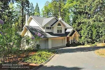 Nevada City Single Family Home Active Rel. Clause: 12337 Madrone Forest Drive