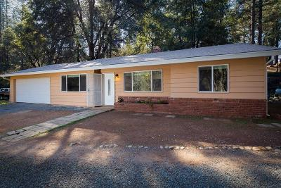 Colfax Single Family Home For Sale: 1050 Pinecroft Road