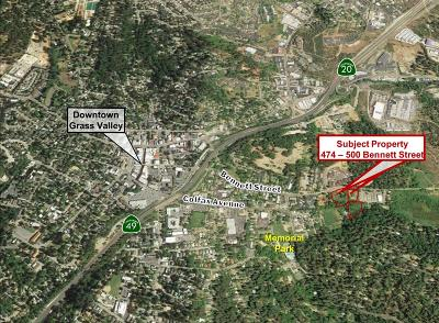 Nevada County Residential Lots & Land For Sale: 474 Bennett Street