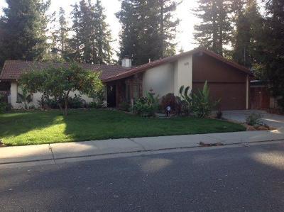 Stockton Single Family Home For Sale: 3624 Appleton Way