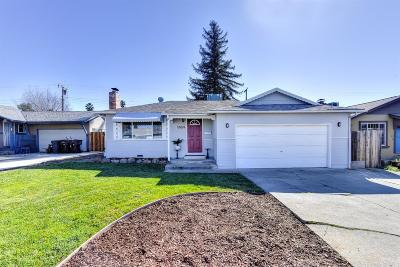 Roseville Single Family Home For Sale: 1024 Coloma Way