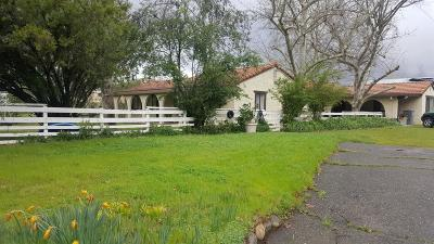 Roseville Single Family Home For Sale: 3865 Old Auburn Road