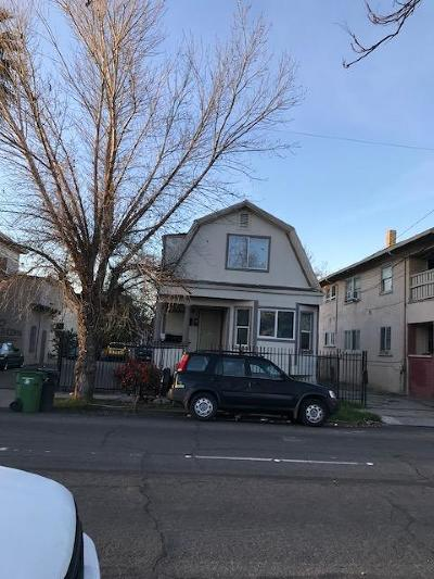 Stockton Multi Family Home For Sale: 1211 East Market Street