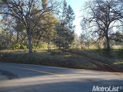 Placerville Residential Lots & Land For Sale: Panorama & Blanchard