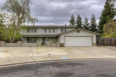 Modesto Single Family Home For Sale: 3812 Golden Oak Court
