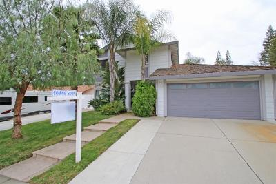 Antelope Single Family Home For Sale: 3713 Driver Way