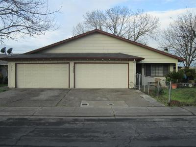 Stockton Multi Family Home For Sale: 7321 Kelley Drive #7323