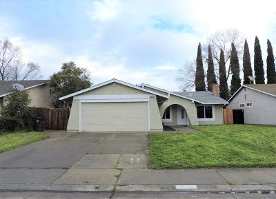 Citrus Heights Single Family Home For Sale: 6031 Tupelo Drive