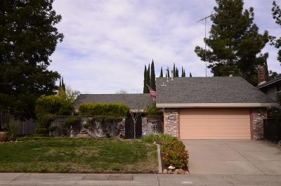 Citrus Heights Single Family Home For Sale: 6124 Hilltree