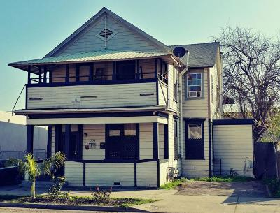 Stockton Multi Family Home For Sale: 738 East Oak Street