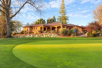 El Dorado County Single Family Home For Sale: 3496 Fairway Drive
