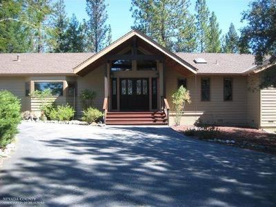 Grass Valley Single Family Home For Sale: 14885 Christmas Tree Lane