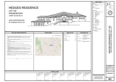 El Dorado Hills Residential Lots & Land For Sale: 2840 Capetanios Drive