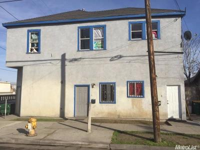 Stockton Multi Family Home For Sale: 902 East Dr Martin Luther King Jr Boulevard