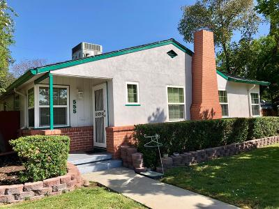 Single Family Home For Sale: 555 East Mariposa