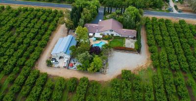 Stockton Single Family Home For Sale: 13115 East Baker Road