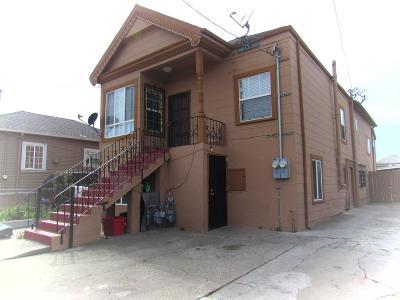 Oakland Multi Family Home For Sale: 833 Portwood Avenue