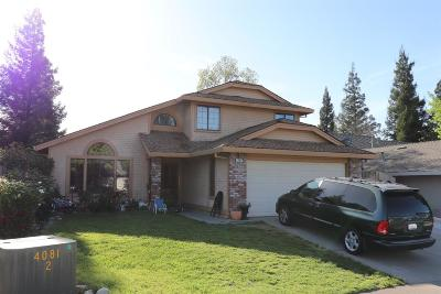 Roseville Single Family Home For Sale: 208 Windward Way