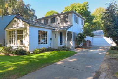 Sacramento Single Family Home For Sale: 3836 West Land Park Drive