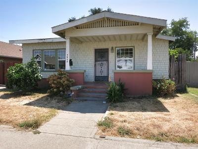 Sacramento Single Family Home For Sale: 4648 12th Avenue