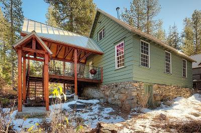 Soda Springs Single Family Home For Sale: 25 South Yuba Drive