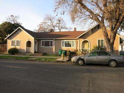 Stockton Multi Family Home For Sale: 1243 East Channel Street
