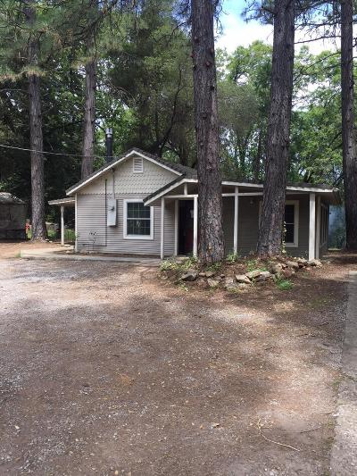 Placerville Single Family Home For Sale: 1927 Pleasant Valley