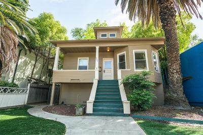Sacramento Single Family Home For Sale: 2504 P Street