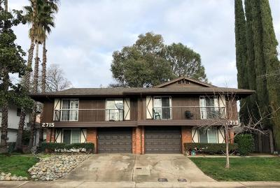 Rocklin Multi Family Home For Sale: 2715 South Whitney Boulevard