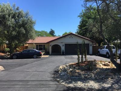Orangevale Single Family Home For Sale: 6442 Chestnut Avenue