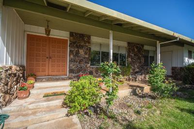 Shingle Springs Single Family Home For Sale: 3575 Ponderosa Road