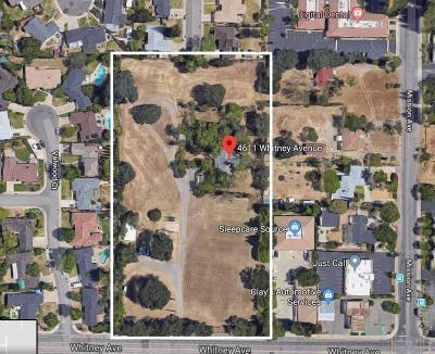 Sacramento Residential Lots & Land For Sale: 4611 Whitney Avenue