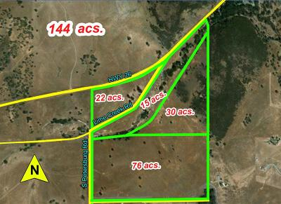 Valley Springs Commercial Lots & Land For Sale: Highway 12