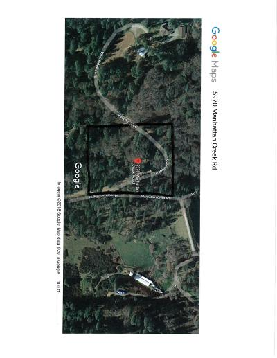 Garden Valley Residential Lots & Land For Sale: 5970 Manhattan Creek Road