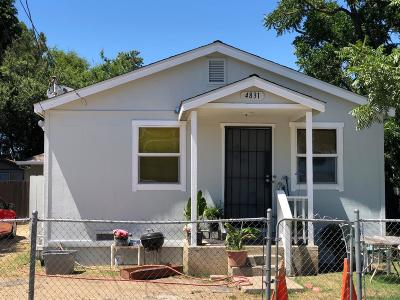 Stockton Single Family Home For Sale: 4831 Horner Avenue