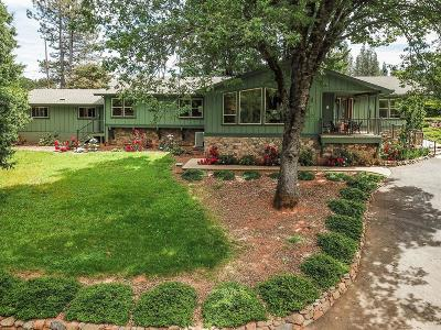 Grass Valley Single Family Home For Sale: 18345 Spring Valley Drive