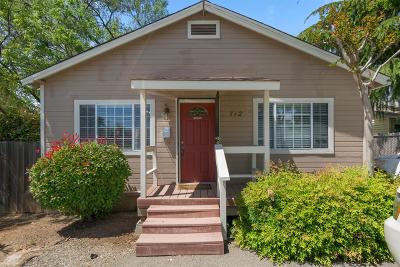 Folsom Multi Family Home For Sale: 712 Bidwell Street